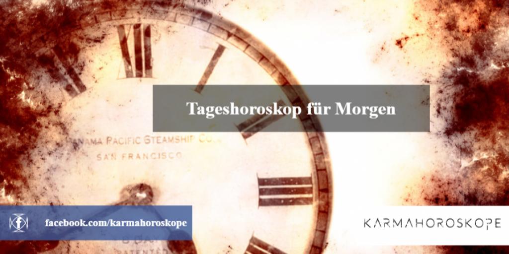 Tageshoroskop für Morgen 2019-01-19