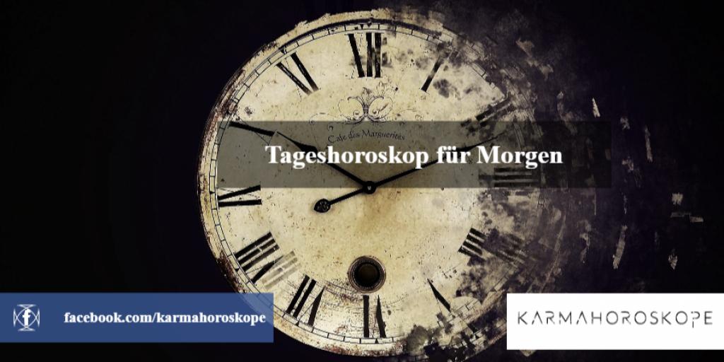Tageshoroskop für Morgen 2018-12-18