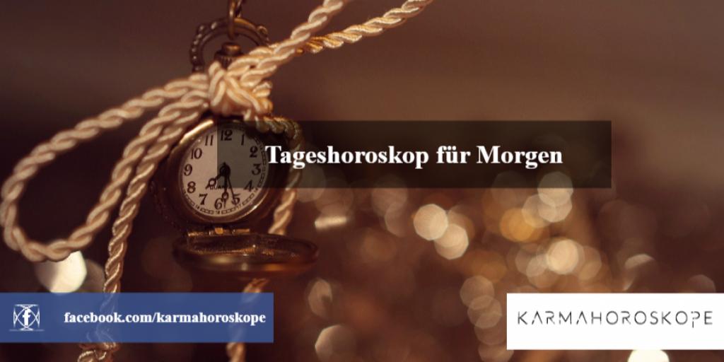 Tageshoroskop für Morgen 2018-11-13