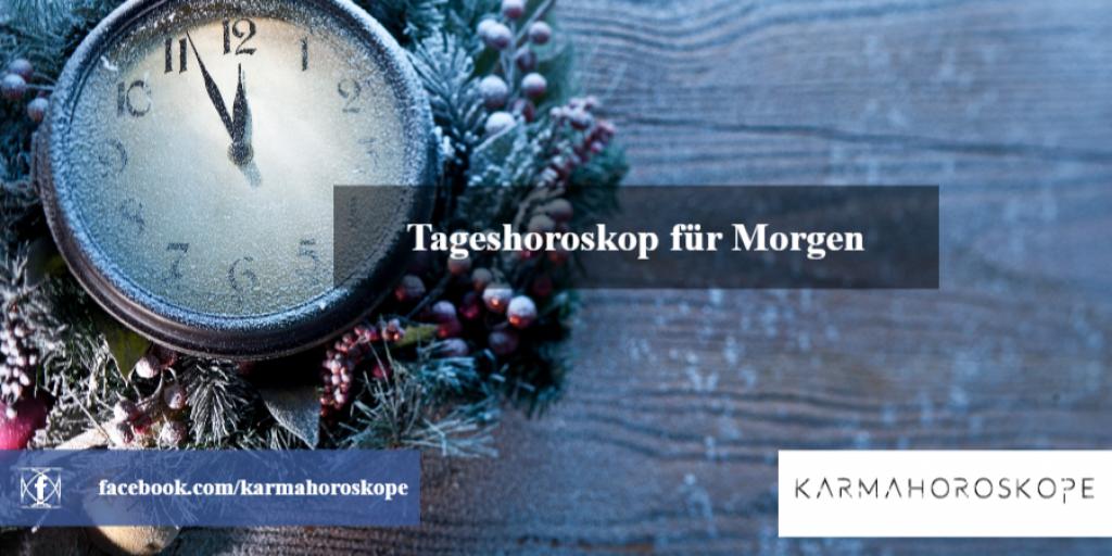 Tageshoroskop für Morgen 2019-01-31