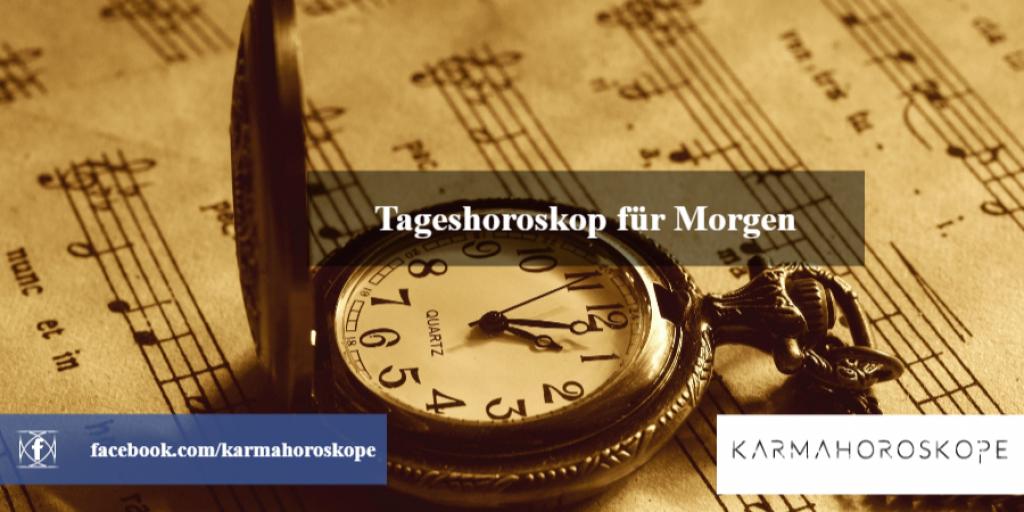 Tageshoroskop für Morgen 2018-10-31