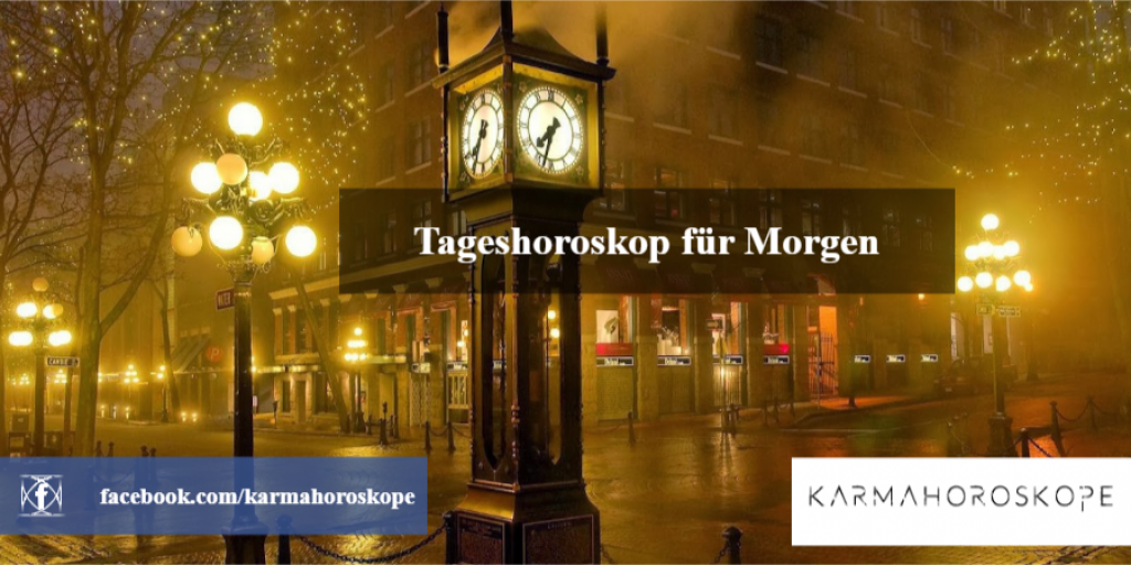 Tageshoroskop für Morgen 2019-01-08