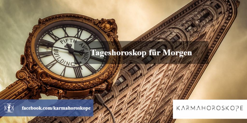 Tageshoroskop für Morgen 2019-01-24