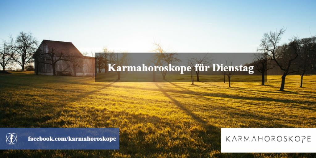 Karmahoroskope für Dienstag 2019-01-08