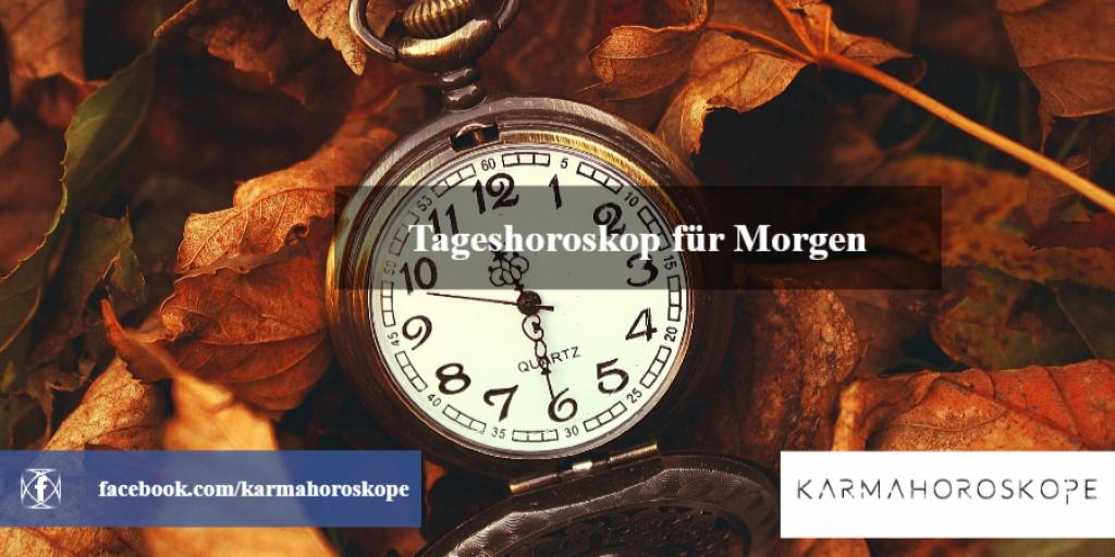 Tageshoroskop für Morgen 2019-01-17