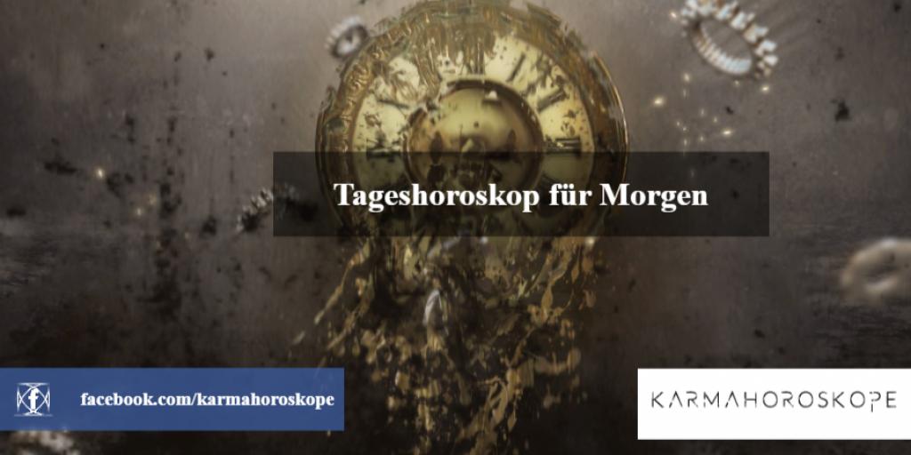 Tageshoroskop für Morgen 2019-03-01