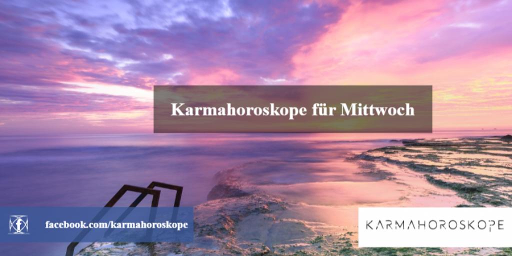 Karmahoroskope für Mittwoch 2019-01-16