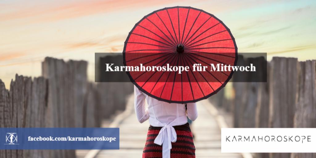 Karmahoroskope für Mittwoch 2018-12-05