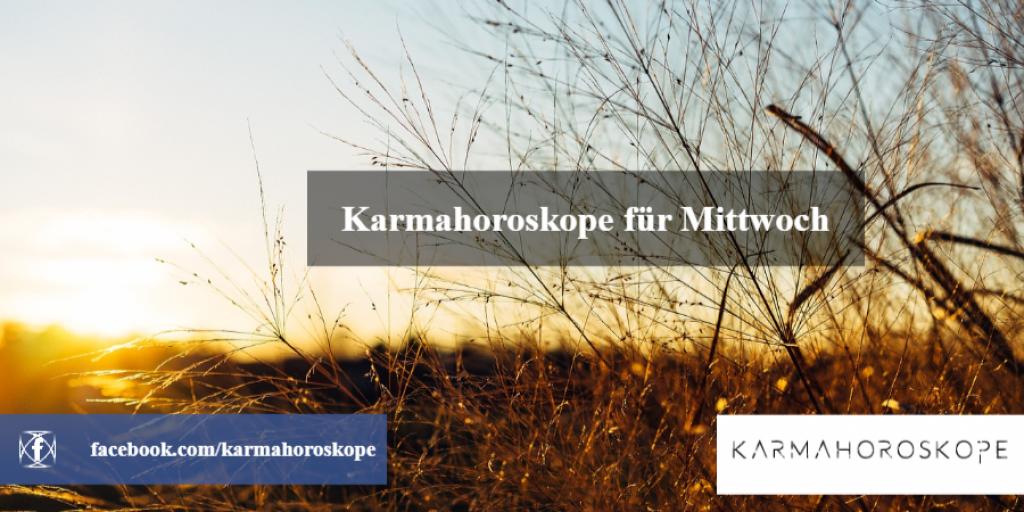 Karmahoroskope für Mittwoch 2018-12-19