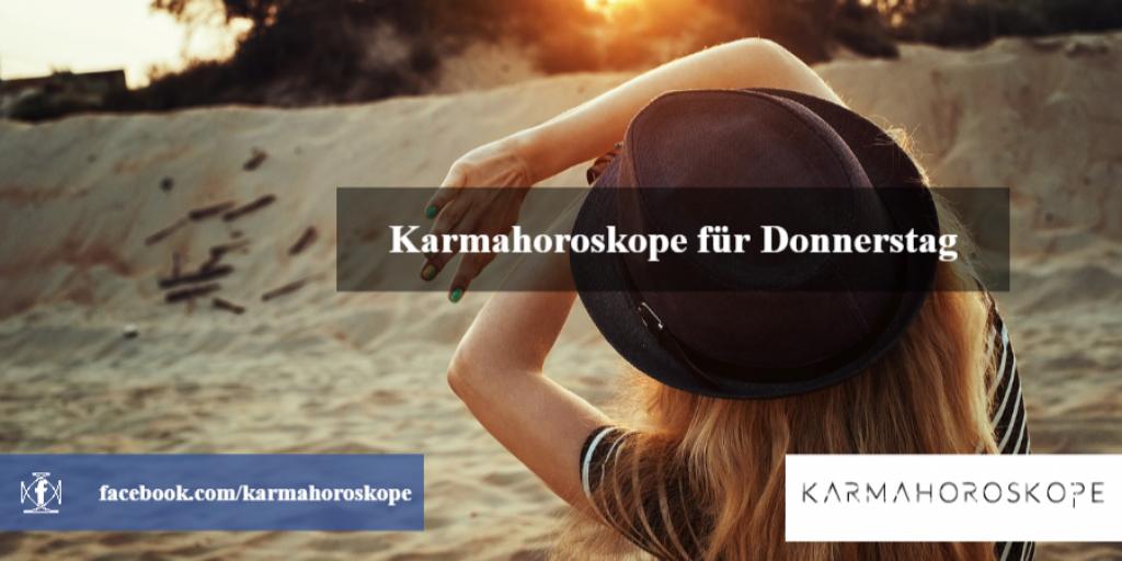 Karmahoroskope für Donnerstag 2018-11-22