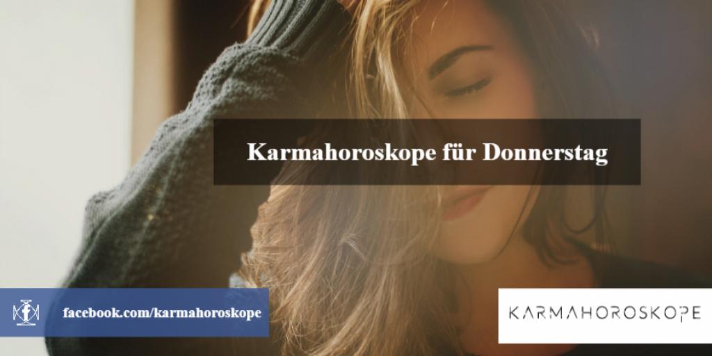 Karmahoroskope für Donnerstag 2018-11-29