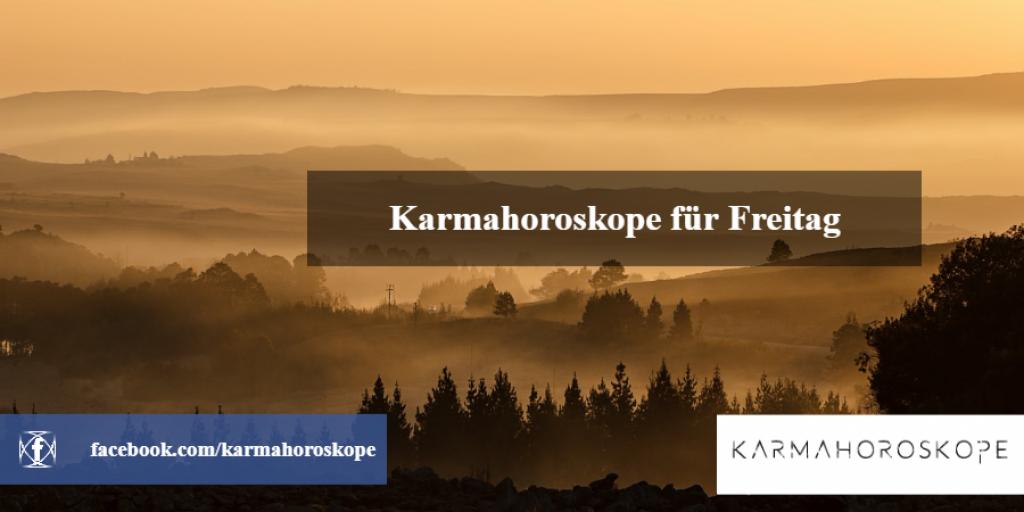 Karmahoroskope für Freitag 2018-11-30