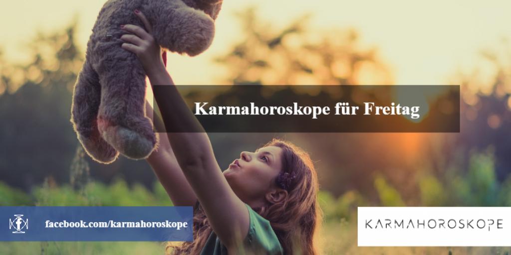 Karmahoroskope für Freitag 2018-12-14