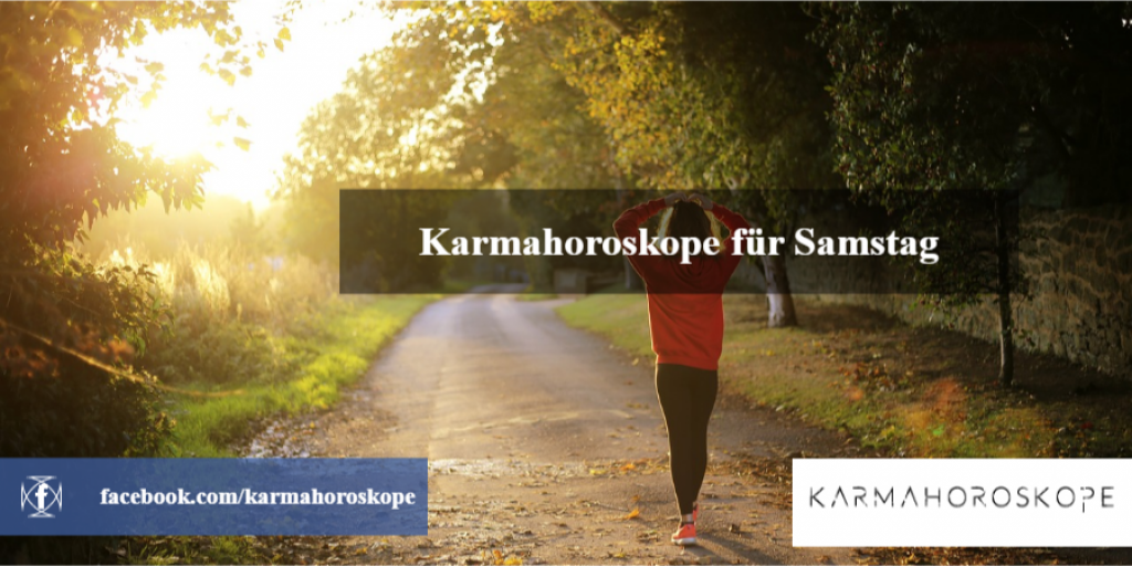 Karmahoroskope für Samstag 2019-01-12
