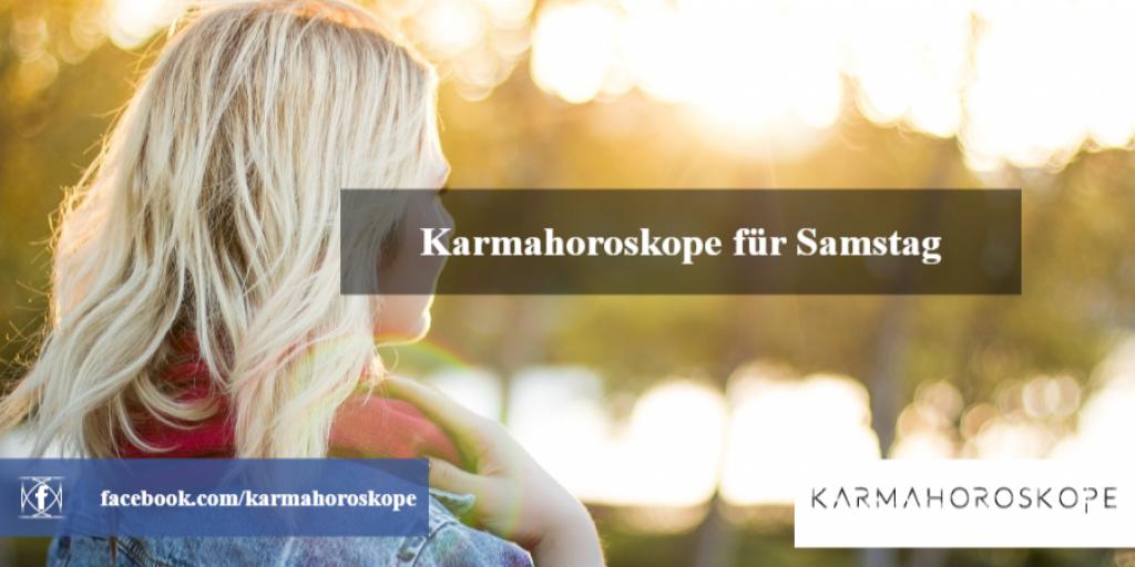 Karmahoroskope für Samstag 2018-12-15