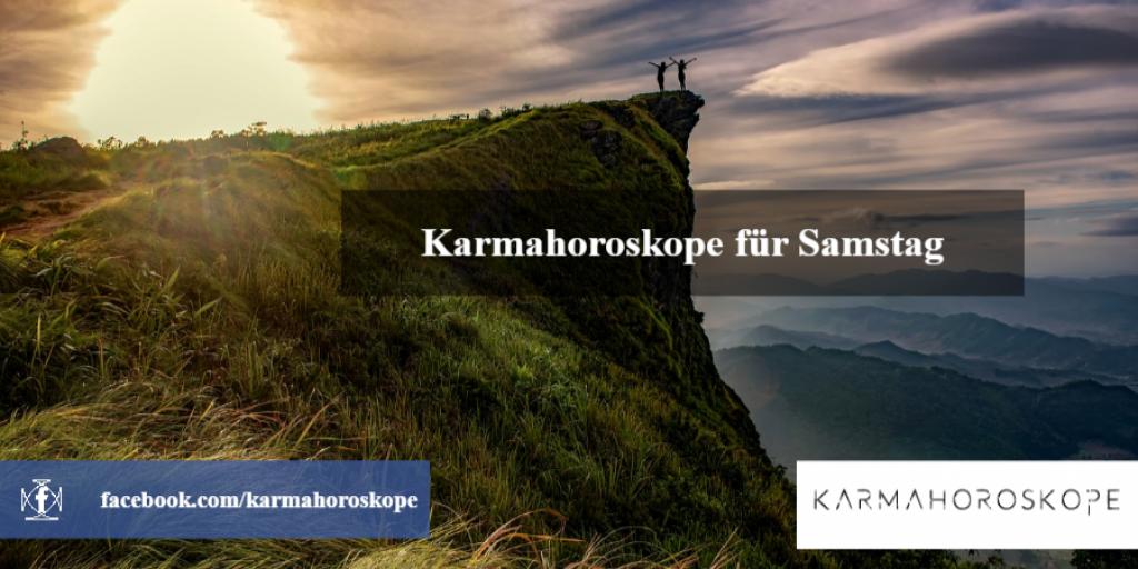 Karmahoroskope für Samstag 2019-01-26