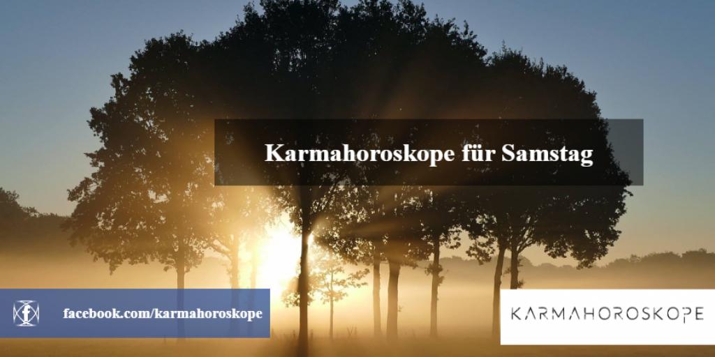 Karmahoroskope für Samstag 2018-12-22