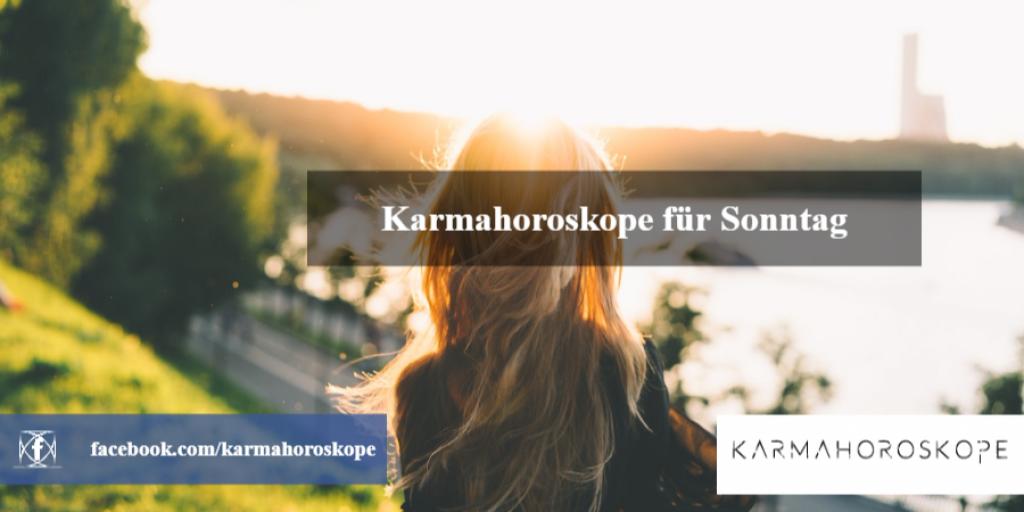 Karmahoroskope für Sonntag 2018-12-16
