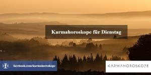 Karmahoroskope für Dienstag 2018-11-13