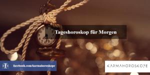 Tageshoroskop für Morgen 2019-04-04