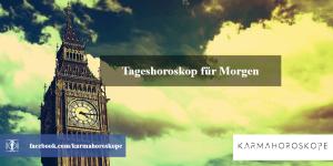 Tageshoroskop für Morgen 2019-04-30