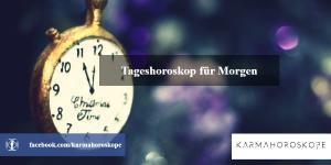 Tageshoroskop für Morgen 2019-05-01