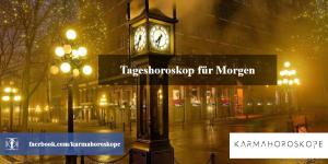 Tageshoroskop für Morgen 2018-12-13