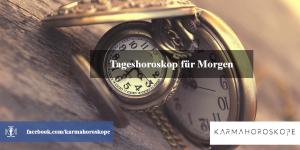 Tageshoroskop für Morgen 2019-01-03
