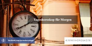 Tageshoroskop für Morgen 2019-01-10