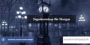 Tageshoroskop für Morgen 2018-12-01