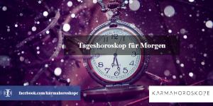 Tageshoroskop für Morgen 2018-11-29