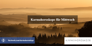 Karmahoroskope für Mittwoch 2019-01-23
