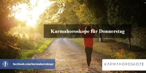 Karmahoroskope für Donnerstag 2019-01-31