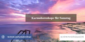 Karmahoroskope für Samstag 2018-11-17